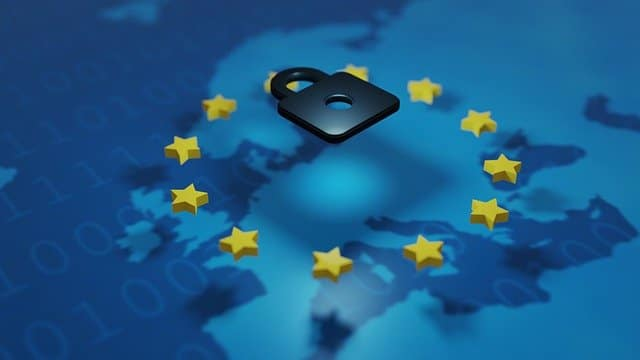 Eu Stars Privacy Shield Symbol  - torstensimon / Pixabay