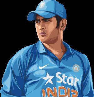 Mahendra Singh Dhoni Cricketer  - Creativehatti / Pixabay