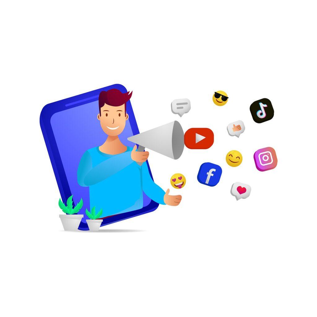 Influencer Business Social Media  - muhammadrizkyklinsman / Pixabay