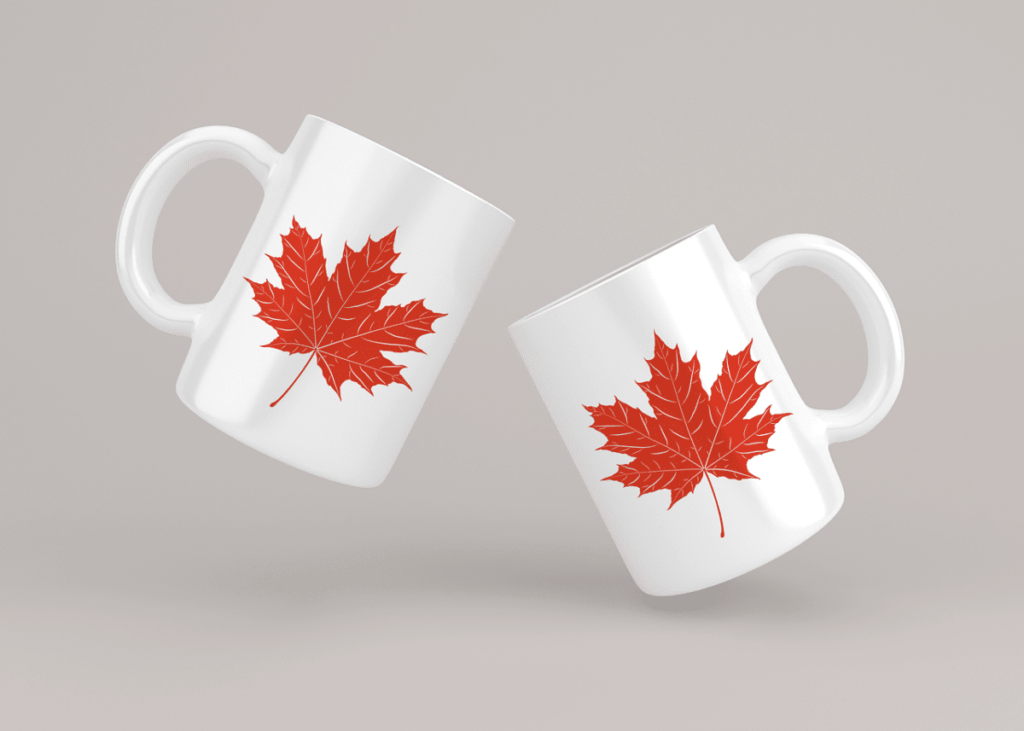 Maple Leaf Mugs Printed Mugs  - SimranMotwani / Pixabay Best Online Business Ideas without Investment that can change your life