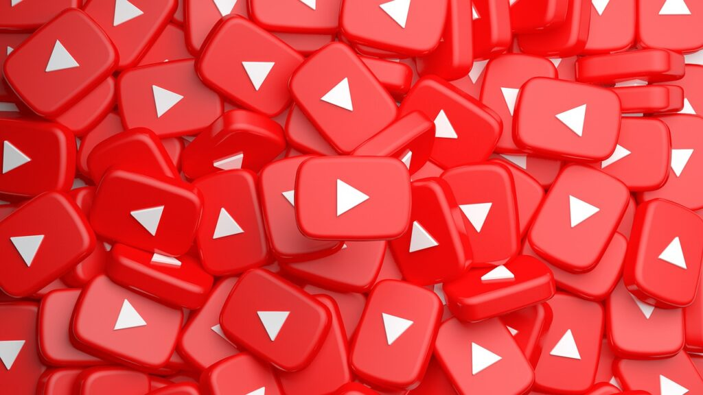Subscribe Youtube Icon Buttons  - SAM-RIZ44 / Pixabay