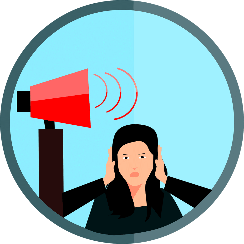 Noise Pollution Anxiety Noise  - mohamed_hassan / Pixabay essay on pollution of environment